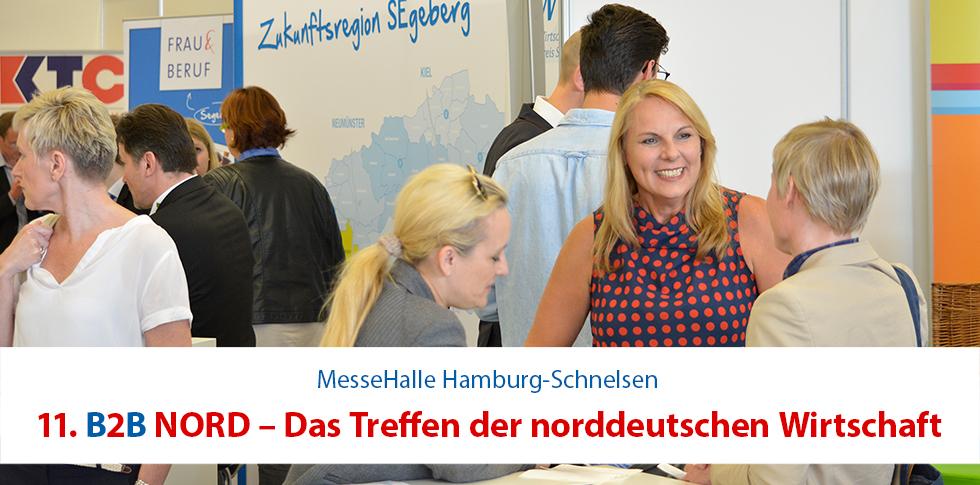 11. B2B NORD – Das Treffen der norddeutschen Wirtschaft