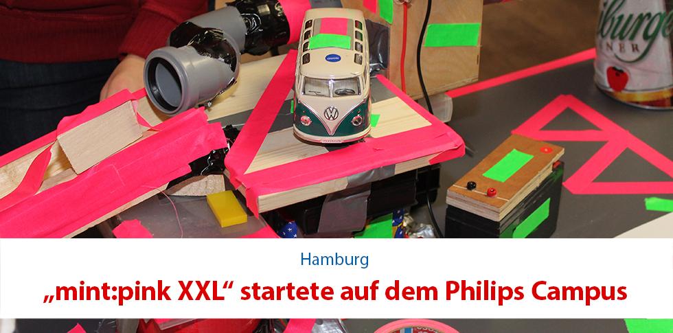 """""""mint:pink XXL"""" startete auf dem Philips Campus"""