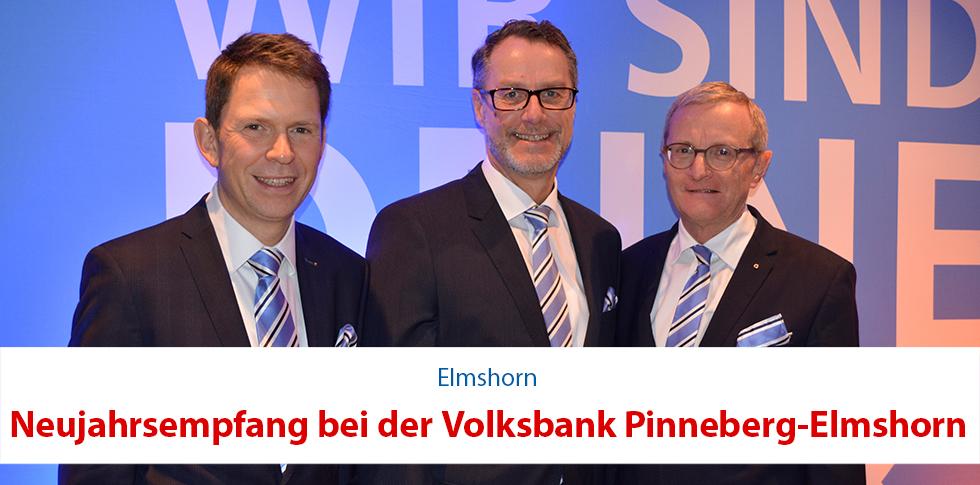Volksbank Pinnerberg-Elmshorn startet erfolgreich ins neue Jahr