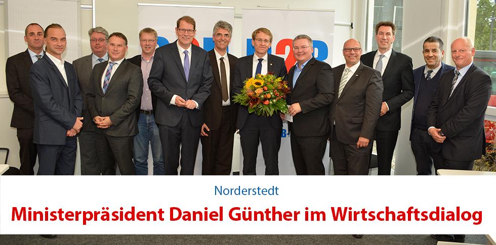 WirtschaftsDialog mit Daniel Günther | Marc-Mario Bertermann