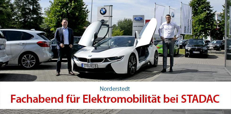 Fachabend für Elektromobilität bei STADAC