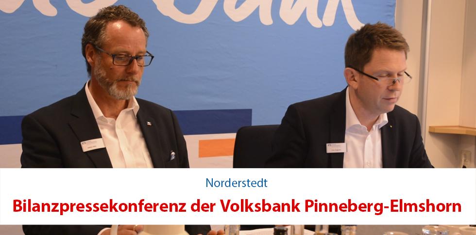 Bilanzpressekonferenz der Volksbank Pinneberg-Elmshorn