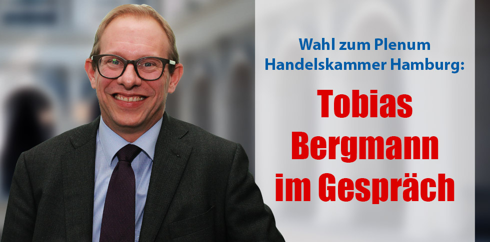 Tobias Bergmann im Gespräch