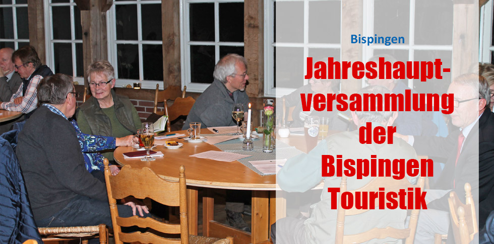 Jahreshauptversammlung der Bispingen Touristik