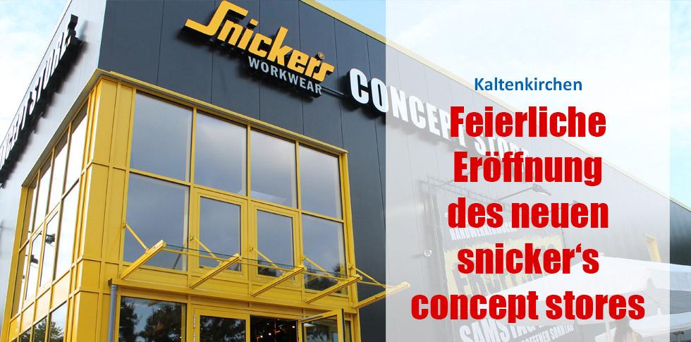 Feierliche Eröffnung des neuen snicker's concept stores