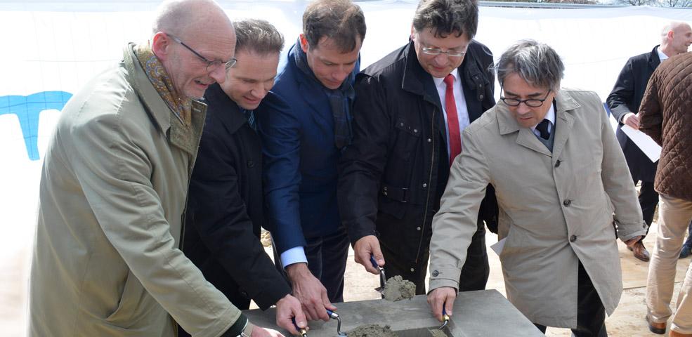 Schweizer Unternehmen Condair legt Grundstein im Nordport