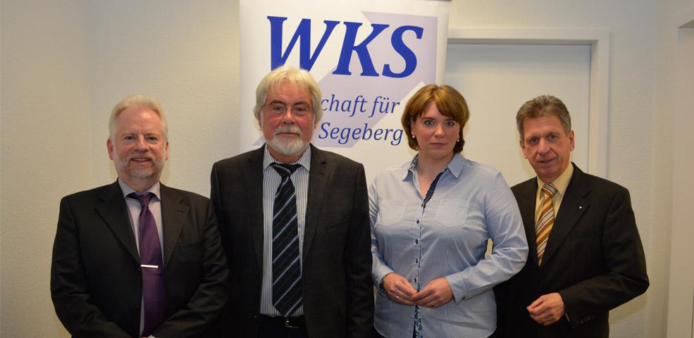 WKS stellt Wirtschaftsbericht 2016 vor