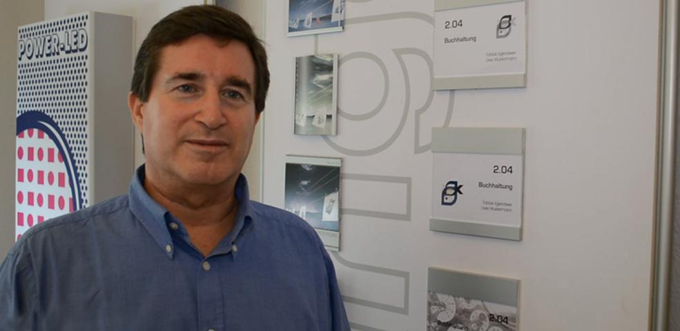 Hans-Joachim Kettler stellt 1st Sign Kettler Design vor