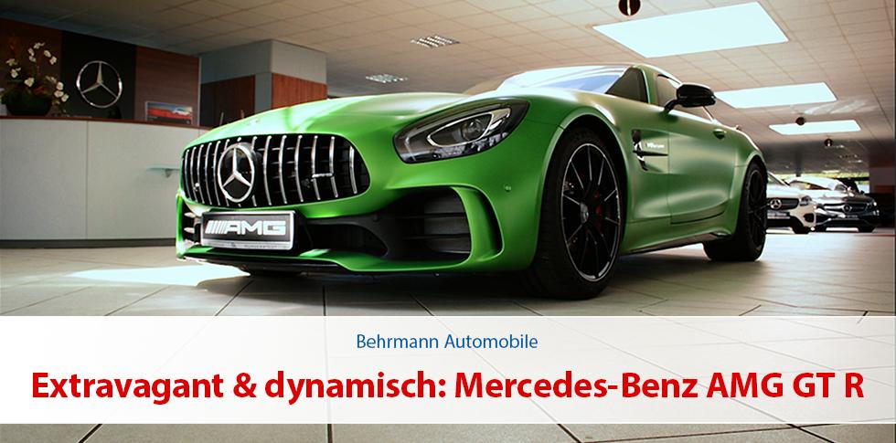 Extravagant & dynamisch: Mercedes-Benz AMG GT R BITURBO