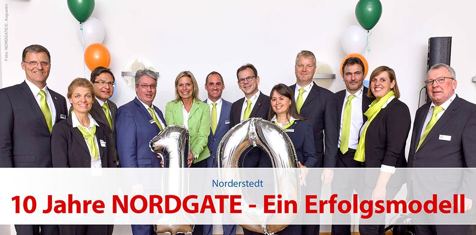 10 Jahre NORDGATE - Ein Erfolgsmodell
