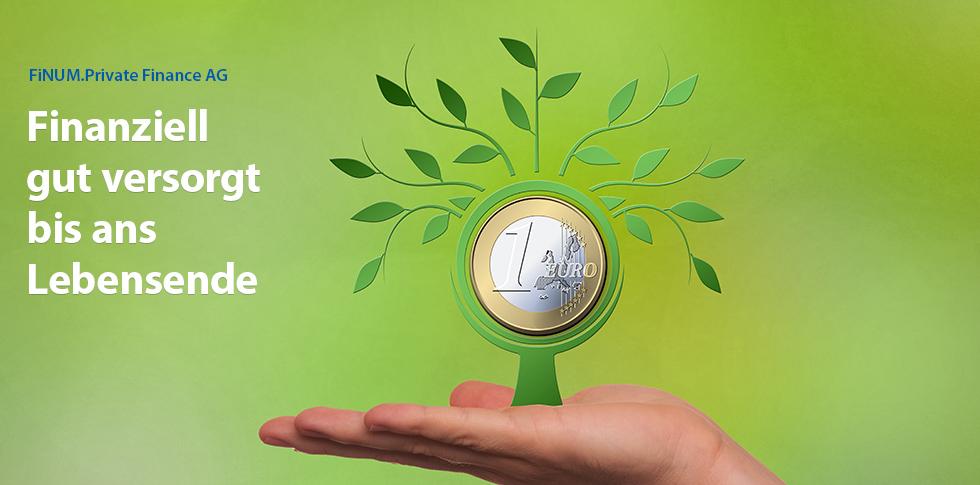Finanziell gut versorgt bis ans Lebensende