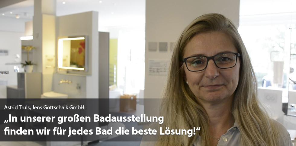 Passende Lösungen für alle Bäder in der Jens Gottschalk Badausstellung