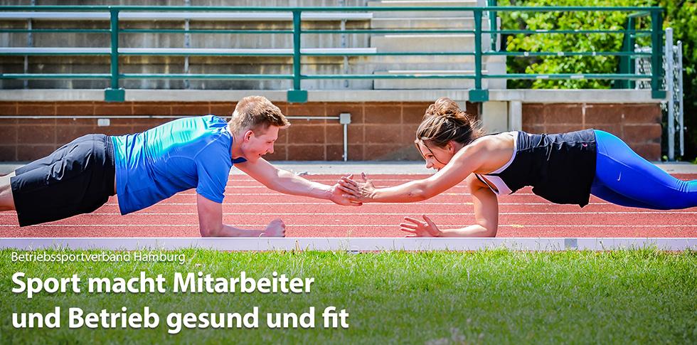 Betriebssportverband: Sport macht Mitarbeiter und Betrieb gesund und fit