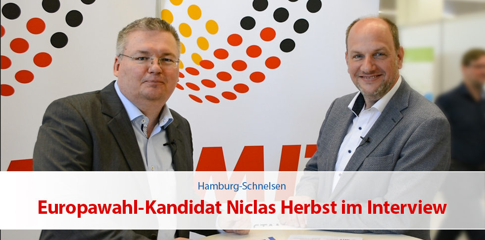 Europawahl-Kandidat Niclas Herbst im Interview