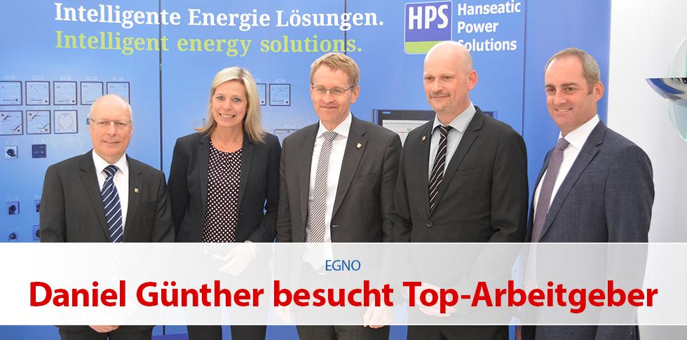 Ministerpräsident Daniel Günther besucht Top Arbeitgeber in Norderstedt