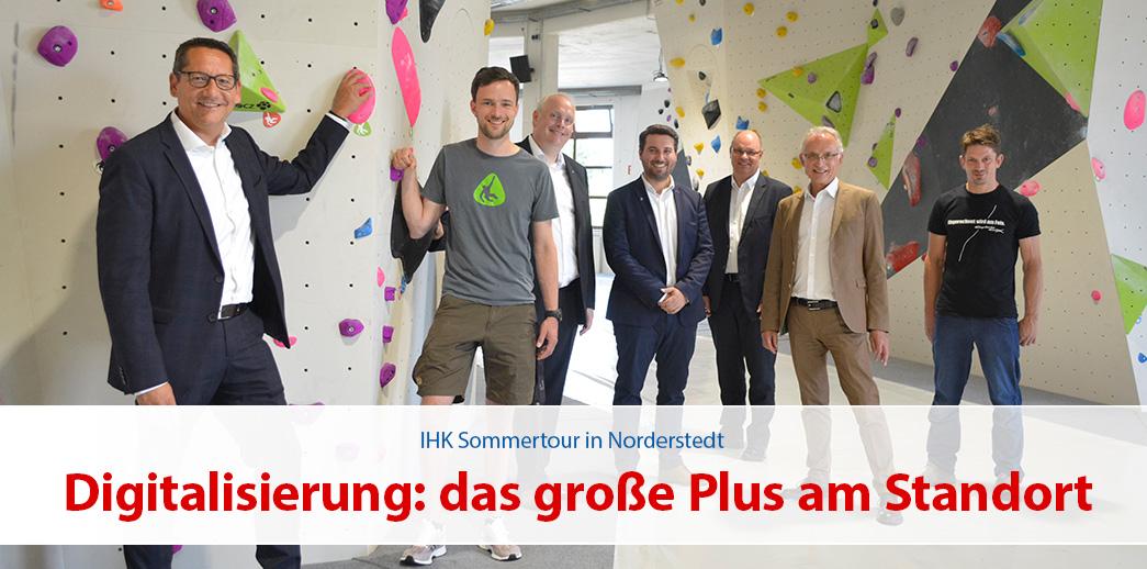 IHK Sommertour – Digitalisierung ist das große Plus am Standort