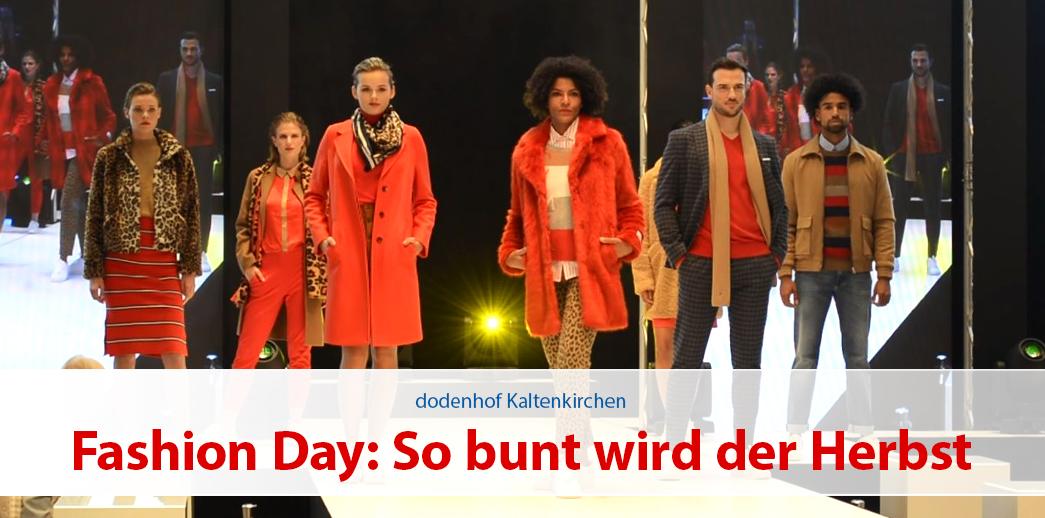 Fashion Day bei dodenhof: So bunt wird der Herbst!