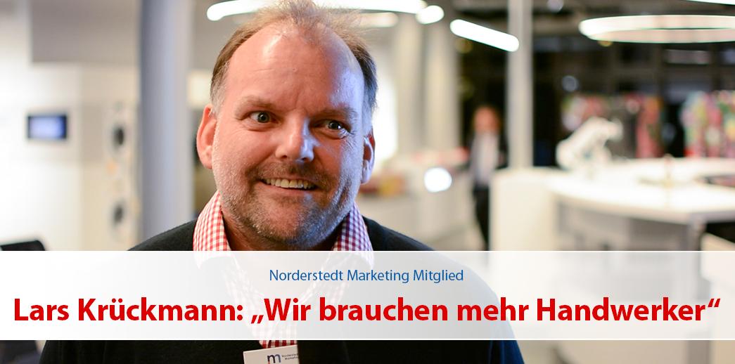 """Lars Krückmann: """"Wir brauchen mehr Handwerker"""""""