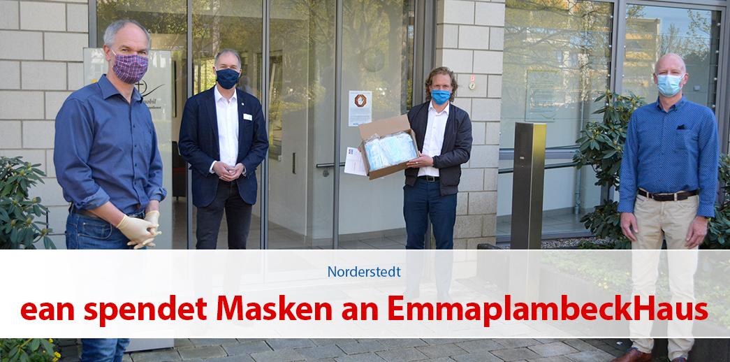 elektro-alster-nord spendet Masken an Emma-Plambeck-Haus