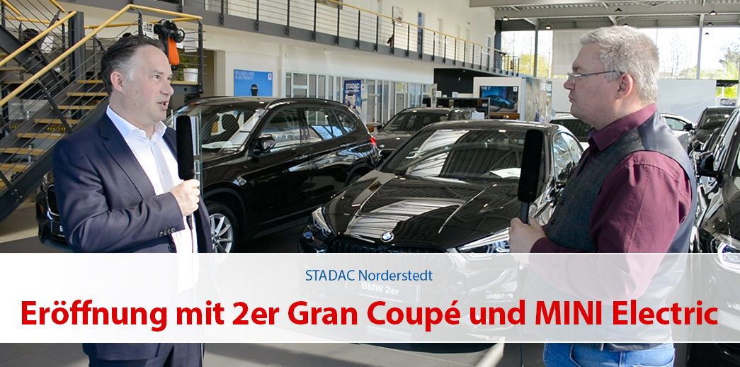 Eröffnung mit dem 2er Gran Coupé und MINI Electric