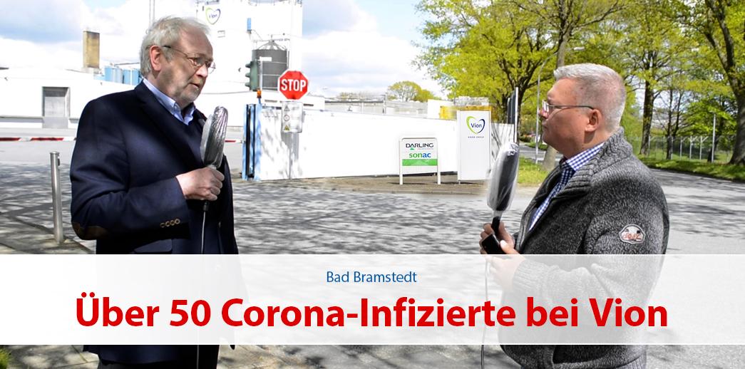 Über 50 Corona-Infizierte bei Vion