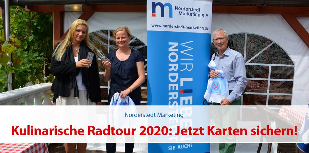 Kulinarische Radtour 2020: Jetzt Karten sichern!