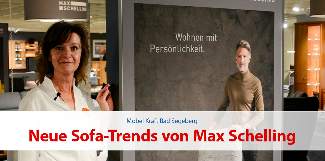 Neue Sofa-Trends von Max Schelling
