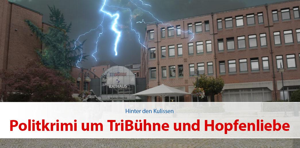 Politkrimi um TriBühne und Hopfenliebe in Norderstedt
