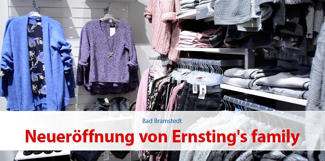 Neueröffnung von Ernsting's family