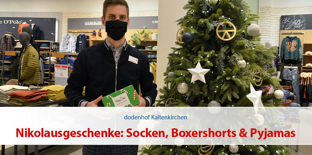 Nikolausgeschenke: Socken, Boxershorts & Pyjamas