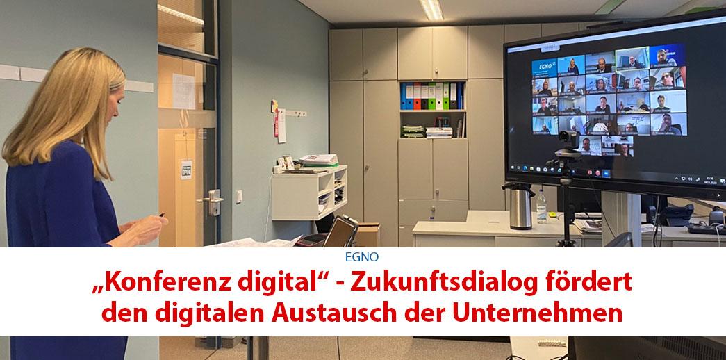 """[Werbung] """"Konferenz digital"""" – Zukunftsdialog fördert den digitalen Austausch der Unternehmen"""