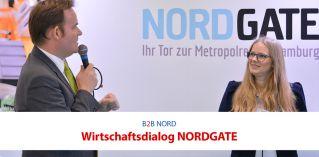 Wirtschaftsdialog Nordgate auf der B2B NORD