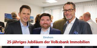25-jähriges Jubiläum der Volksbank Immobilien