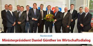 WirtschaftsDialog mit Daniel Günther | Gunnar Becker