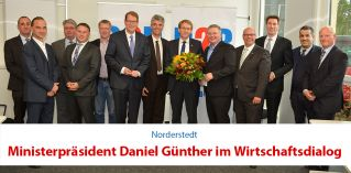 WirtschaftsDialog mit Daniel Günther | Egon Boesten