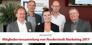 Mitgliederversammlung von Norderstedt Marketing 2017