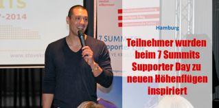 Teilnehmer wurden beim 7 Summits Supporter Day zu neuen Höhenflügen inspiriert
