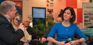 Katja Suding im WirtschaftsDialog