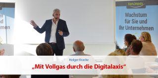 Mit Vollgas durch die Digitalaxis