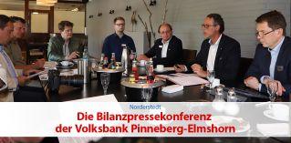 Die Bilanzpressekonferenz der Volksbank Pinneberg-Elmshorn