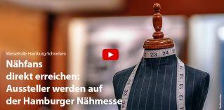 Nähfans direkt erreichen: Aussteller werden auf der Hamburger Nähmesse