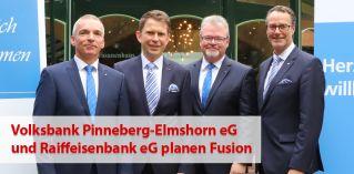 Zusammen erfolgreich stark – Volksbank Pinneberg eG und Raiffeisenbank eG planen Fusion