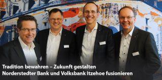 Norderstedter Bank und Volksbank Itzehoe fusionieren