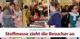 Stoffmesse Hamburg zieht die Besucher an