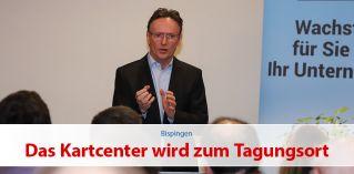 Das Kartcenter wird zum Tagungsort – DenkEvent mit Ernst Albrecht Vöhringer