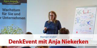 DenkEvent mit Anja Niekerken