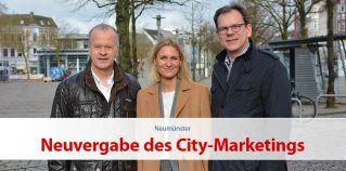 Citymanagement Neumünster übernimmt Vermarktung der Innenstadt