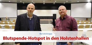 Blutspende-Hotspot in den Holstenhallen Neumu?nster