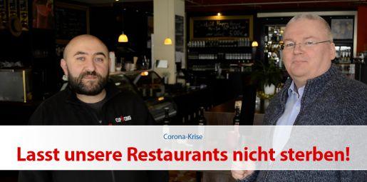 Lasst unsere Restaurants nicht sterben!