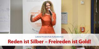 """Margit Lieverz mit """"Reden ist Silber –  Freireden ist Gold"""""""